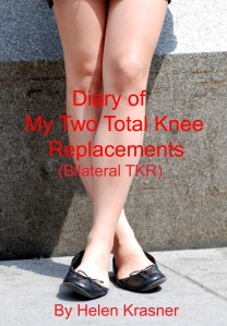 diary of my two total knee replacements, cover
